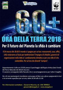{focus_keyword} L'Ora della Terra 2018 manifesto ora della terra