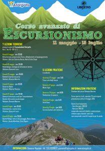 {focus_keyword} Corso di Escursionismo Avanzato Manifesto escursionismo avanzato