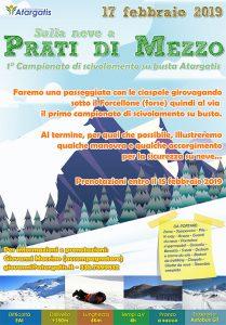 {focus_keyword} Sulla neve a Prati di Mezzo manifesto prati di mezzo 1