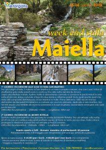{focus_keyword} Week-End sulla Maiella manifesto maiella