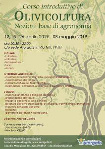 {focus_keyword} Corso base di Olivicoltura manifesto oliviticoltura