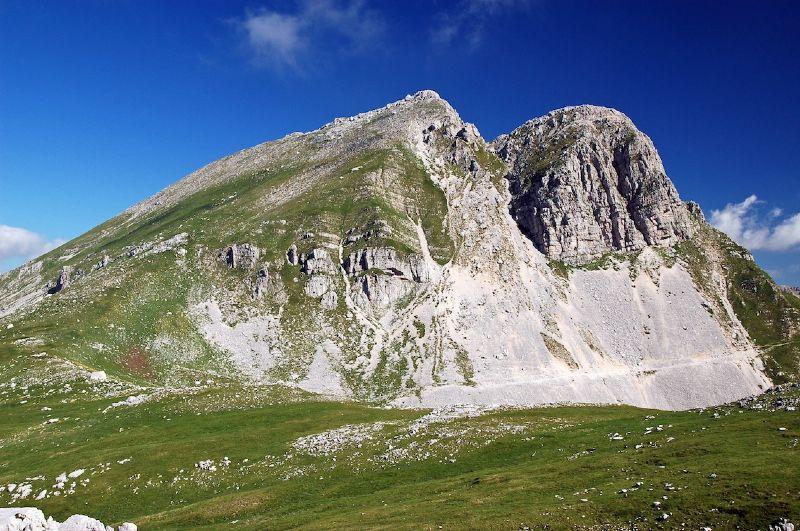 Monte Meta da Passo dei Monaci